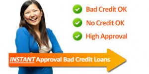 instant approval bad credit loans