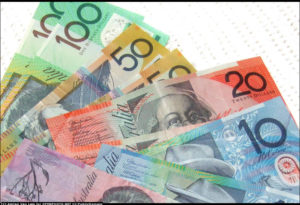 centrelink approved loans - all australian bank notes fanned out - $5 to $100